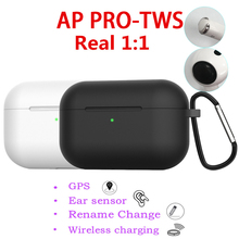 цена на AP Pro Wireless Bluetooth Head phone Supercopy  Air3 Pro 1:1 Clone Airpoding Headset Name Change Earbuds not W1 H1 Chip i12