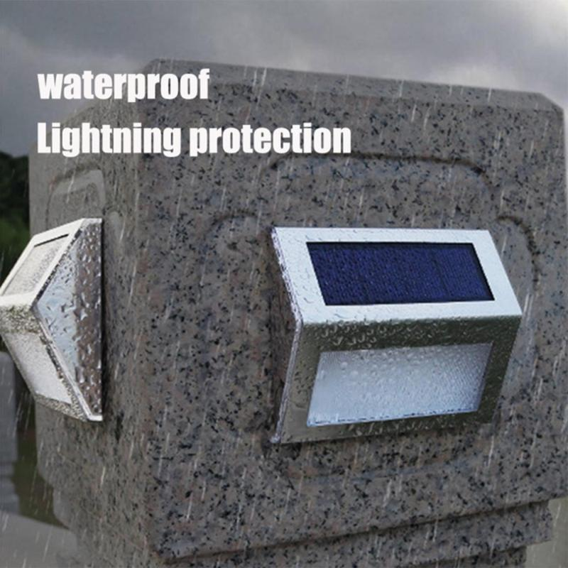 Dreamburgh Hot LED Solar Light Outdoor Solar Lamp Wall Street Light Waterproof Solar Powered Lamp Sunlight For Garden Decoration