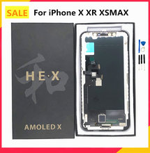ЖК дисплей he jk gx rj pantalla oled incell для iphone x xs