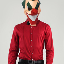Costume Paper-Craft-Model Mask Cosplay DIY 3d Halloween The Joker Clown Party-Gift Christmas
