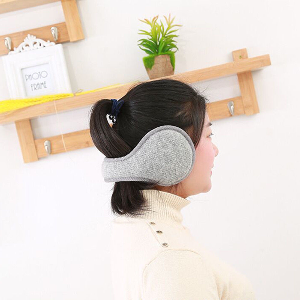 Hot Winter Unisex Men And Women Fleece Warmer Earmuff Warm Plush Cloth Ear Muffs Cover Earwarmers Ear Muffs Earlap Warmer