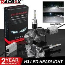 H3 Auto Led Lampen Koperen Riem Stijl Auto Koplamp Lamp 100W 10000LM Flip Chips Led Koplamp Lampen 12V 24V Led Mistlamp