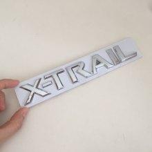 1 pçs X-TRAIL xtrail carta do carro tronco traseiro decalques emblema adesivo decalque estilo do carro acessórios automóveis