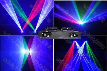 950mW RGB цвет Рождественские лазерные огни толстый луч лазерное dj оборудование проектор многолучевой лазерный проектор
