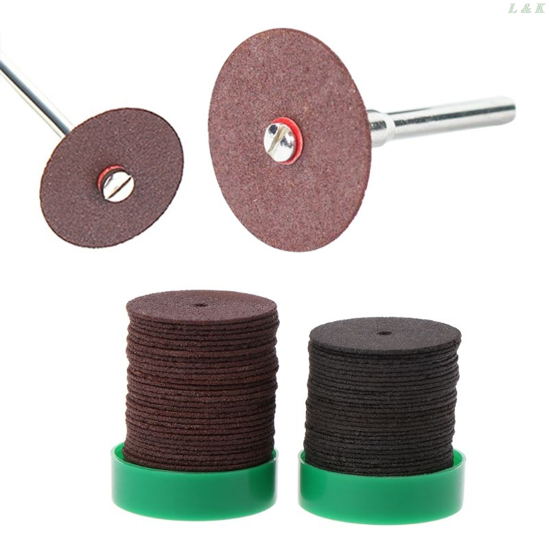 36pcs 24mm Abrasive Disc Cutting Discs Reinforced Cut Off Grinding Wheels Rotary Blade Cuttter Tools U50A