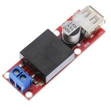 1Pcs 5V USB Output Converter DC 7V-24V To 3A Step Down Buck KIS3R33S Module KIS-3R33S