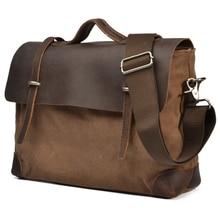 2020 Fashion Leather Briefcase Men Genuine Leather Messenger