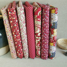Plain-Fabric Dress Cloth Flower-Printed Handicrafts Fabric-By-Meter Sewing-Patchwork