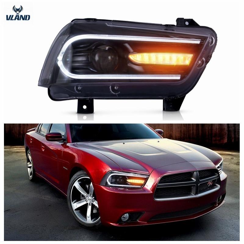 VLAND Tvornički dodaci za auto LED svjetla za punjač LED prednja - Svjetla automobila - Foto 6