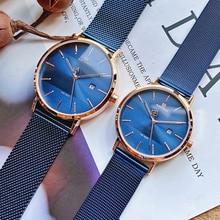 NAVIFORCE Quartz Watches Clock Male Couple Waterproof Top Br