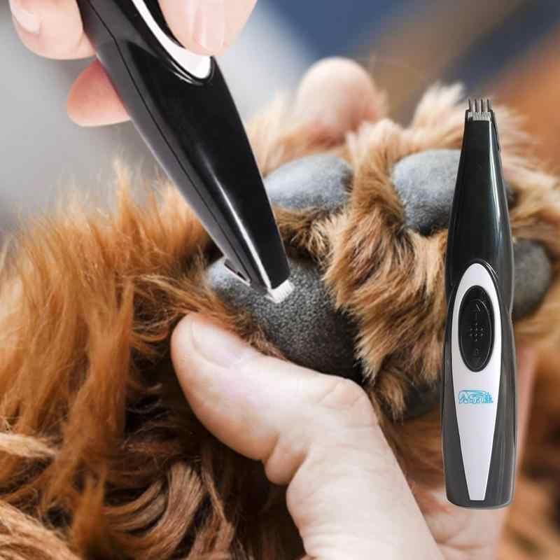 מיני חיות מחמד מכונת גילוח זמירה רגל פדיקור כלי כלב חתול חשמלי בלעדי שיער גילוח אספקת חיות מחמד הפנים Paw התחת אוזן טיפוח גוזז