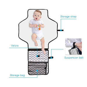 Diaper-Bag Changing-Pad Portable Cover-Mat Folding Clean-Hand Travel Multifunction Waterproof
