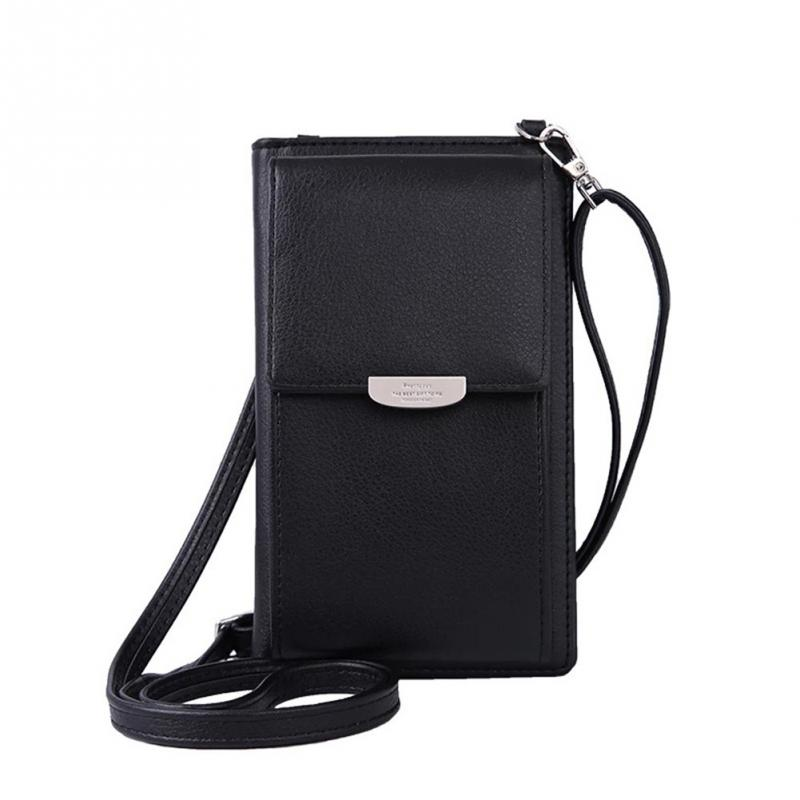 Women Bag Fashion Crossbody PU Leather Mini Messenger Bags Multiple Card Slots Inside Phone Bag Shoulder Bag