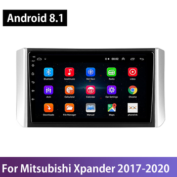 Android 8.1 Car DVD Multimedia Player For Mitsubishi Xpander 2017 2018 2019 2020 GPS Navigation Stereo WIFI Split Screen Carplay image