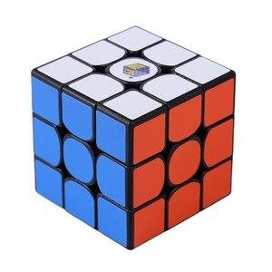 Image 4 - Magie Cube Yuxin Wenig Magie 3x3x3 Zauberwürfel Geschwindigkeit Magic Cube für Herausfordernde Geschenk Spielzeug Bunte