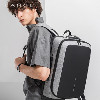 """Professional Anti-theft Women Men Business Laptop Backpack for 15.6"""" Computer Backpacks Fashion Travel Luggage Formal Bag Male"""