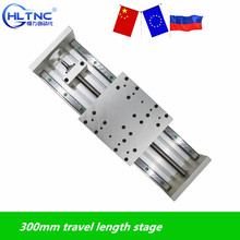 CNC HGR20 SFU1605 Ballscrew Linearสไลด์HGH20CAจังหวะ 300 มม.ActuatorสำหรับNema 23 34 Stepperมอเตอร์XYZแกนlinear Motion