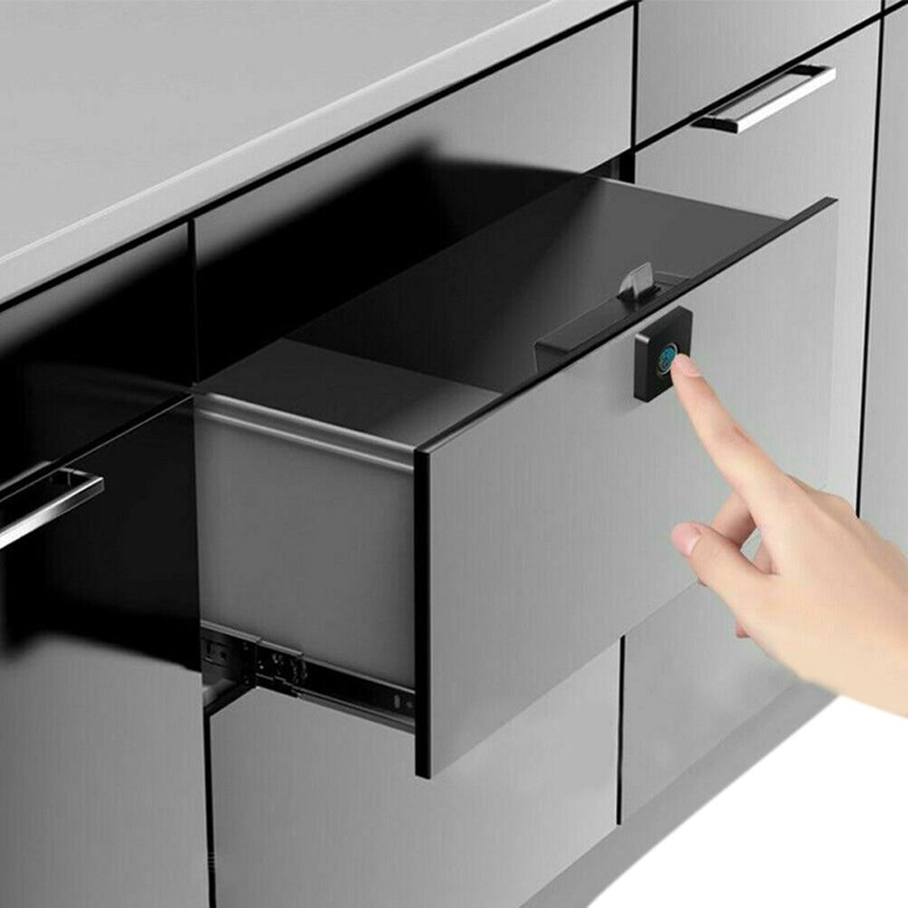 Newest Smart Fingerprint Lock Keyless Anti-theft Cabinet Locker for Home Office Drawer Box
