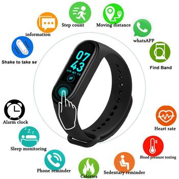 M4 Smart Watch Wristband Wireless Bluetooth Waterproof Heart Rate Monitor Fitness Tracker SportBracelet Band For Android IOS sikemei smart wristband women waterproof fitness bracelet heart rate monitor sport band watch gift to lady for iphone android