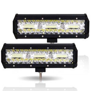 "Image 3 - Led Verlichting Bar 180W 10 ""Offroad 4X4 12V Rijden Licht Led Verlichting Voor Vrachtwagens Boot Motorfiets tractor Led Combo Suv Atv Licht"