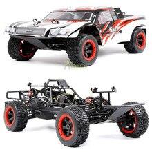 32CC 2T Gas Motor Off Road Racing 2.4G Afstandsbediening Auto Speelgoed Met Symmetrische Steering 2WD Rc vrachtwagen Voor 1/5 Rofan Baja 5B 5SC