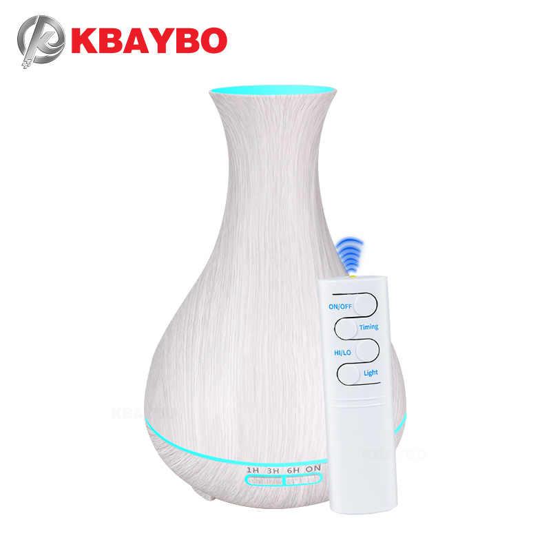 KBAYBO, 550 мл, арома, эфирное масло, диффузор, электрический, под дерево, ультразвуковой, холодный туман, увлажнитель воздуха для офиса, дома, спальни, гостиной