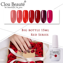 Clou Beaute 15ml Red Series Nail Gel Gelpolish UV/LED