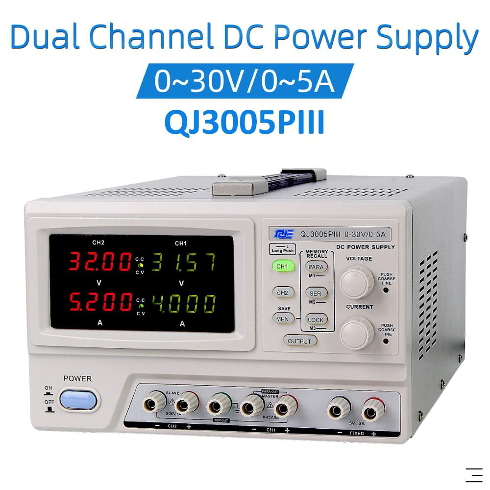 DC Linear Bench Power Supply Variable Output 0-100V 0-3A 5V fixed 0-50V 0-6A