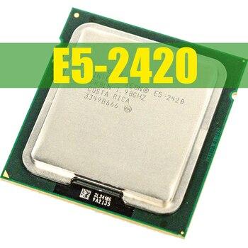 ЦП INTEL Xeon E5-2420 E5 2420 1,9 ГГц шестиядерный ЦП с двенадцатью потоками 15 м 95 Вт LGA 1356 процессор
