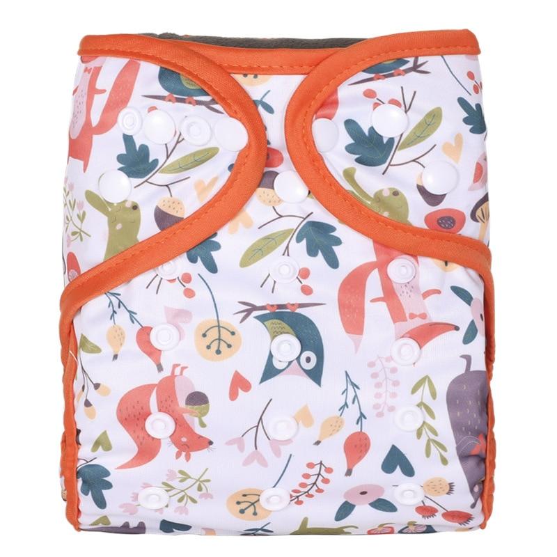 [Simfamily] 1 шт. многоразовый тканевый подгузник, моющийся Водонепроницаемый детский подгузник, костюм для детей 3-15 кг, оптовая продажа, регулир...