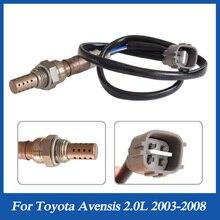 Toyota Avensis için T25 1AZFSE 2.0L 2003 2008 O2 Lambda probu oksijen sensörü 89465 05130 8946505130