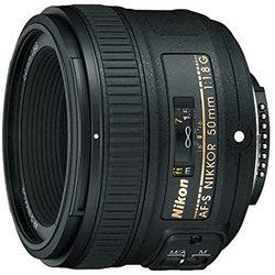 USED Nikon AF-S Nikkor 50mm f/1.8G Lens WITH UV