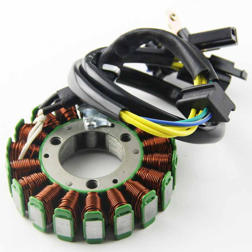 Bobine de magnéto de Stator de moto bobine de 18 pôles 12V pour Suzuki 32101-05300 3210105300 TU125 GS125 GN125