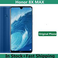 Original Honor 8X Max 4G LTE teléfono móvil Snapdragon 660 Android 8,1 de 7,12