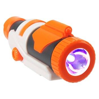 Modified Part Tactical Flashlight for Nerf Elite Series Retaliator Rapidstrike for Nerf Modulus Regulator toy gun