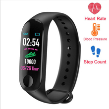 M3 Smart Wristband Bracelet Band Heart Rate Activity Fitness Tracker Blood Pressure Monitor Pedometer Watch