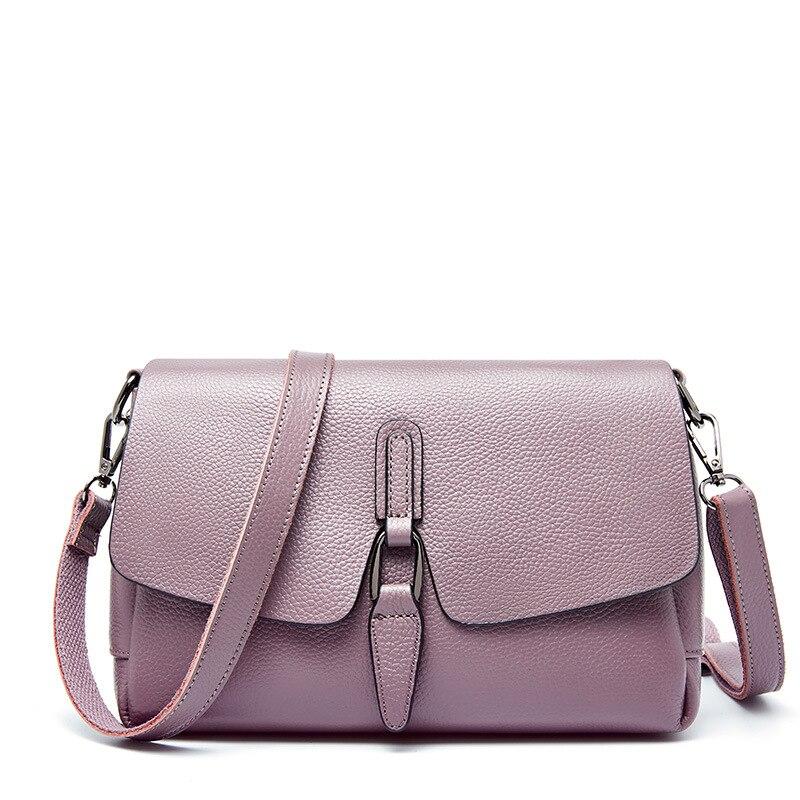 Luxe femmes devrait sac femme noir petits sacs à main femme 2019 mode Crossbody sacs pour femmes dames sacs à main en cuir véritable - 5