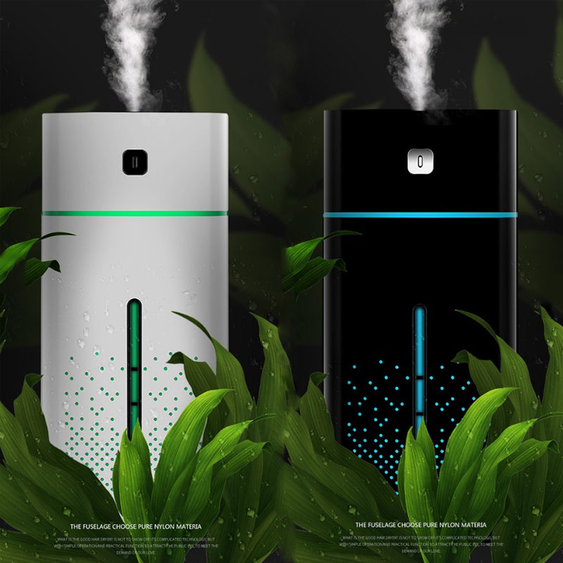 1000ml Portable Ultrasonic Humidifier Aroma Diffuser Aromatherapy Diffuser Exquisite Fashion Colorful Night Light Air Purifier