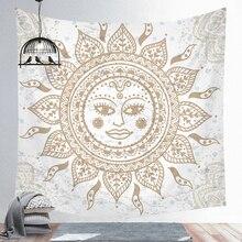 Tapestry Wall-Blanket Boho Decor Sun-Witchcraft Farmhouse New