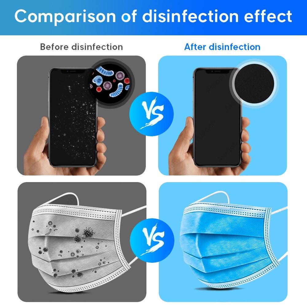 USB UV Light UVC Lamp Sanitizer COB Bulb Stick LED Ultraviolet Lamp Bactericidal Disinfection phone Germicidal Lamp For Wand Hom