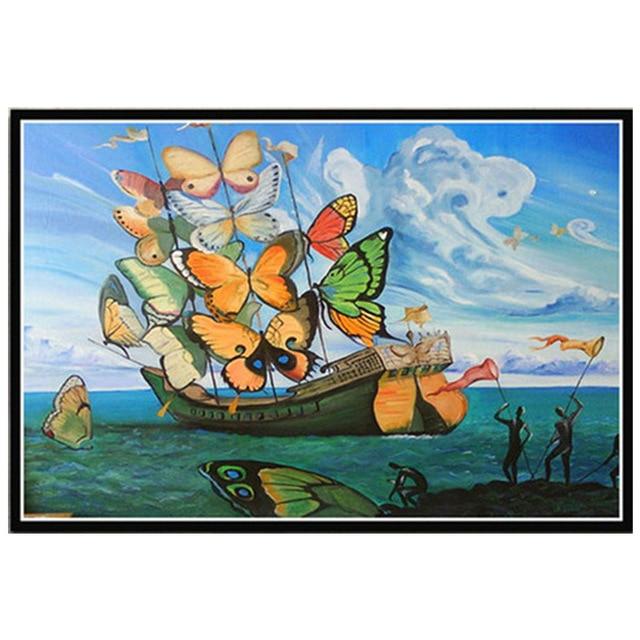 The Winged Ship by Vladimir Kush
