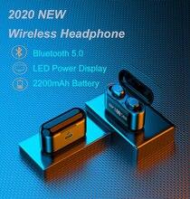 003 tws sem fio bluetooth fone de ouvido estéreo fones com cancelamento ruído fone com microfone handfree para o telefone móvel