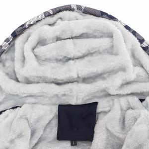 Image 5 - Sudadera con capucha gruesa número 23 para hombre, chaqueta con capucha de lana cálida informal para hombre, ropa de calle, chaquetas para hombre, abrigos Harajuk para hombre, Sudadera con capucha Hip Hop 2019