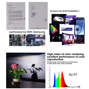 Image 4 - Hlxg bombilla Led antiniebla para coche, con Chip SAMSUNG CSP, H4, LED H7, 4 lados 9005 HB3, H11 H8 H1, 15000LM, 80W, 6500k