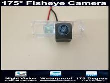 175 Degree 1080P Fisheye Parking Car Rear view Camera for Volkswagen Polo Hatchback Golf Magotan Bora Scirocco Passat CC B6 цена и фото