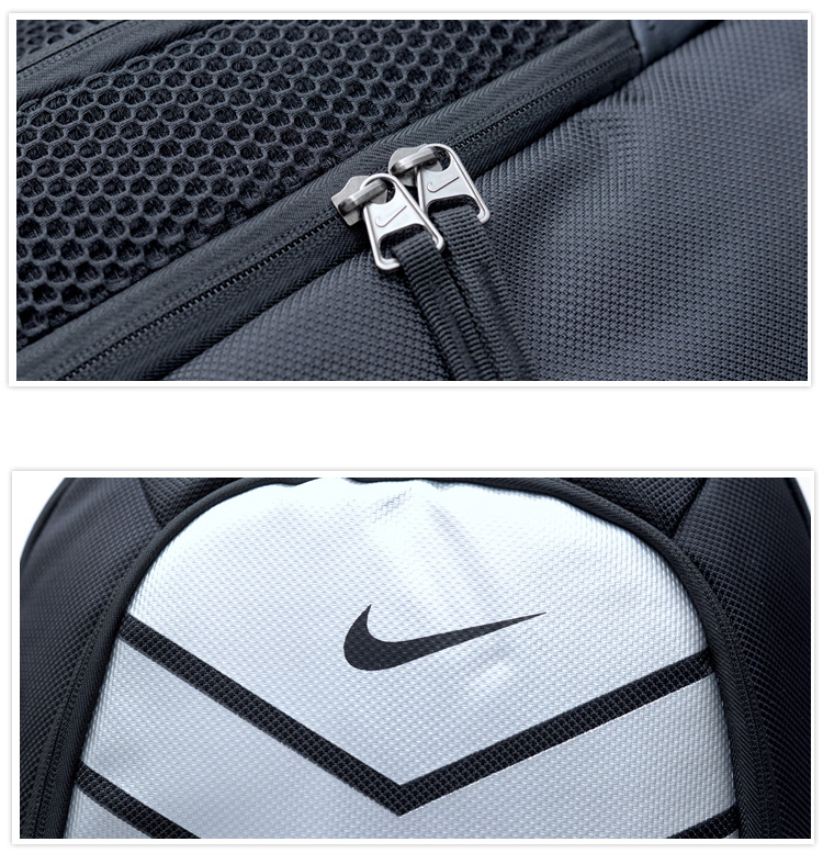 Nike homme Fanshion grande capacité sac d'entraînement respirant sport sac à dos mode Camping sacs femmes - 3