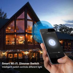 Image 5 - WiFi Thông Minh Cảm Ứng Mờ Chuyển Bảng Điều Khiển Thông Minh Châu Âu Quy Định Ứng Dụng Từ Xa Điều Khiển Giọng Nói Làm Việc Với Alexa Google Nhà IFTTT