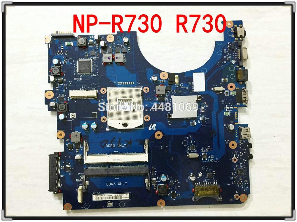 For Samsung NP-R730 R730 Notebook HM55 DDR3 BA41-01219A BA41-01218A BA41-01342A BA41-01220A Laptop Motherboard 100% Tested