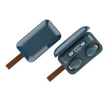 High Bass Earbud Wireless Bluetooth Eearphone Earphon TWS Earbuds Headset Ecouteur Handfree Nnoise Cancelling Power Bank