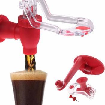 Nowa magia 3D do góry nogami butelka do napojów woda sodowa miękki dozownik do picia kran Saver Holder tanie i dobre opinie CN (pochodzenie) Z tworzywa sztucznego